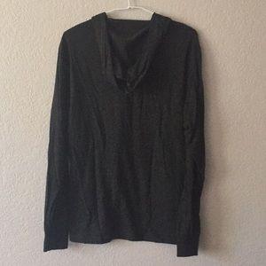 Tops - Hooded T-shirt top